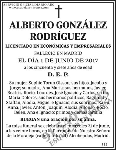 Alberto González Rodríguez